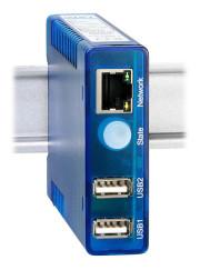 Galvanische Trennung mit USB2.0-Extender+Isolator über Netzwerk