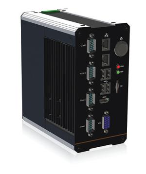 Lüfterloser Embedded-PC - Hutschienenmontage - Box-PC