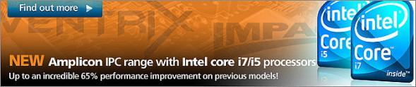 Neue Industrie Computer mit Intel Core i5/i7 Prozessoren