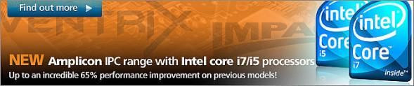 Industrie Computer mit den neuen Intel Core i5/i7 Prozessoren