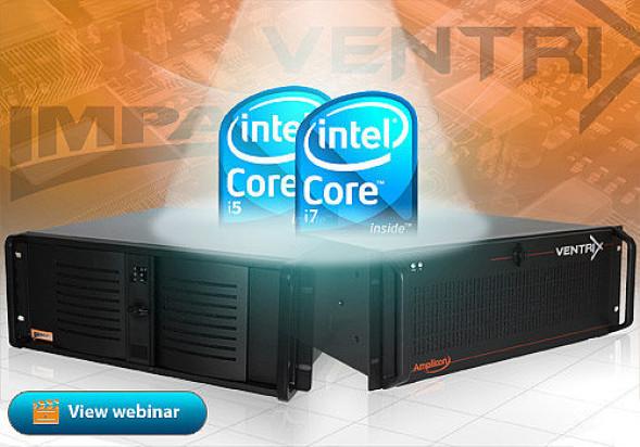 Industrie Computer von Amplicon - Webinar Intel Core i5/i7 Prozessoren