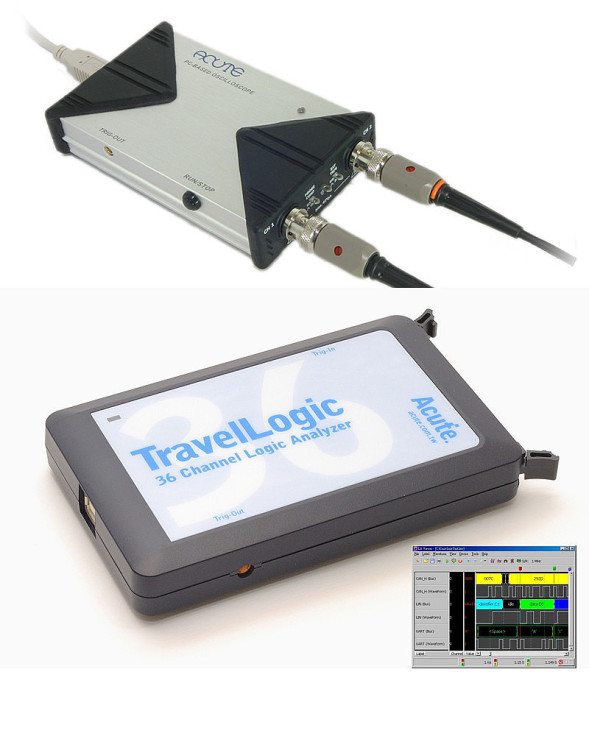 Mixed Signal Analyzer - TravelLOgic + DS-1000