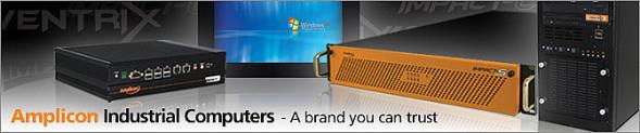 Industriecomputer und Embedded-PCs von Amplicon - Die Marke schafft Vertrauen