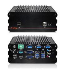 Lüfterloser Embedded-PC Impact-E200 mit i5 Prozessor