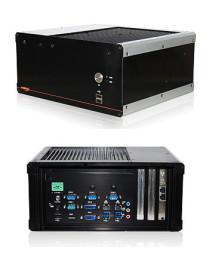 Lüfterloser Embedded-PC mit 3 x PCIe-Steckplätzen