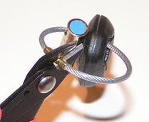 Schlüsselplombe mit Schnellverschluss